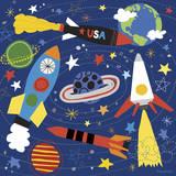 Space Explorer II Giclée par Lesley Grainger