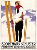 Sporthaus Schuster Munich Giclée par The Vintage Collection