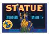 Statue California Bartletts