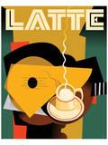 Cubist Latte II