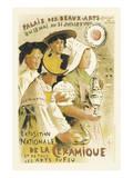 Exposition Nationale De La Ceramique - Palais Des Beaux-Arts  Champ-de-Mars  Paris
