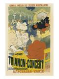 Trianon  Concert Grand Jardin De L'Elysee  Montmartre