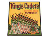 King's Cadets Brand California Green Asparagus