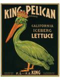 King Pelican Brand California Iceberg Lettuce