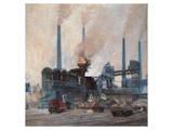 Blast Furnace of Hoesch Steel