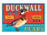 Duckwall D-B Brand Hood River Pears