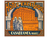 Hotel Excelsior  Casablanca  Maroc