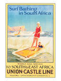 Surf Bathing in South Africa