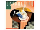 Cubist Cappucino I