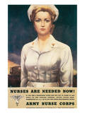 Nurses Are Needed Now! 1945