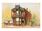Victorian House, No. 16 Reproduction d'art
