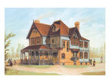 Victorian House, No. 13 Reproduction d'art