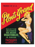 Plenti Grand Vegetables