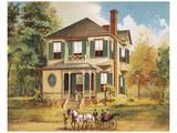 Victorian House, No. 10 Reproduction d'art