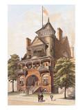 Victorian House, No. 4 Reproduction d'art