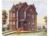 Victorian House, No. 11 Reproduction d'art