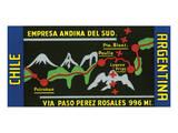 Chile  Argentina  Empresa Andina del Sud