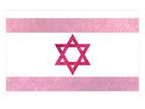 Pretty Pink Shield of David