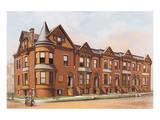 Victorian House, No. 17 Reproduction d'art