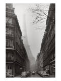 Foggy Paris in Black and White