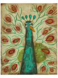 Spirited Peacock I