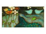Sea Garden Triptych III