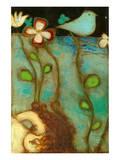 Sea Garden Triptych V