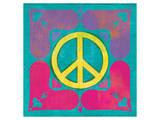 Peace Sign Quilt III