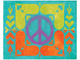 Peace Sign Quilt II