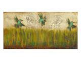 Hummingbirds in Tall Grass II