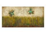 Hummingbirds in Tall Grass I