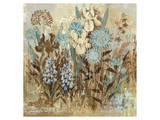 Floral Frenzy Blue II