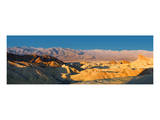Zabriskie Point  Death Valley  Panoramic Duo I