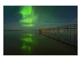 Northern Lights Reflected in Lake Winnipeg III