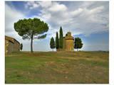 Tuscany Capella di Vitaleta Rear View