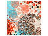 Exotic sea life I Reproduction d'art par Yashna