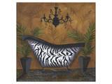 Safari Soak in Zebra I