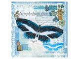 Butterfly Artifact Blue