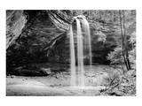 Waterfall  Hocking Hills State Park  Ohio