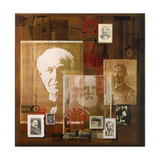 A Collage of Portraits of Inventors