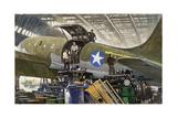Workers Build Cargo Planes in Huge Warehouses