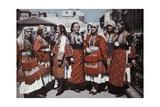 Portrait of Macedonian Women in Traditional Dress