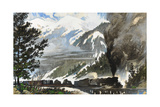 Freight Train Pulls Tanks and Materiel across the Continental Divide