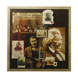 A Collage Features Portraits of Famous African Americans