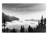 Over the Clouds  Banff National Park  Alberta