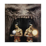 Twin Brothers from the Mayan Legend of Creation