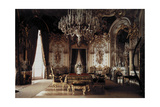The Interior of a Dining Room in Schloss Herrenchiemsee Castle