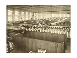An Interior View of a Large Silk Mill
