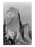 Medieval Monastery  Meteora  Greece