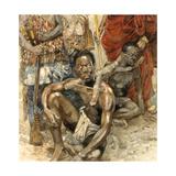 Legendary Denkyira Warrior  Owusu Mensa  Captured for Slavery